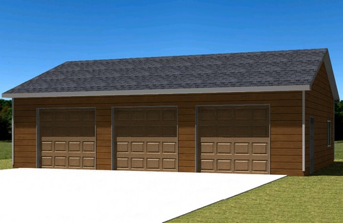 Garage plan 430250 custom garage plans for Custom garage plans